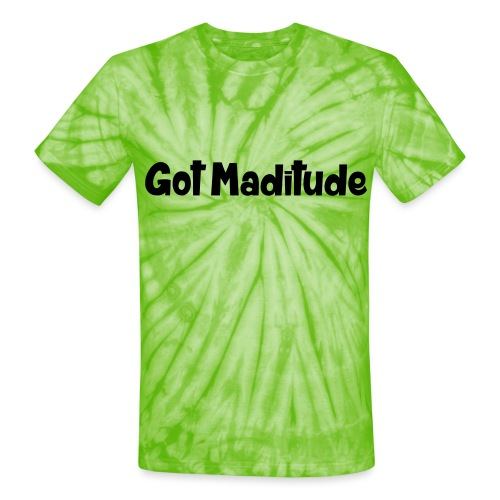 maditude2 - Unisex Tie Dye T-Shirt
