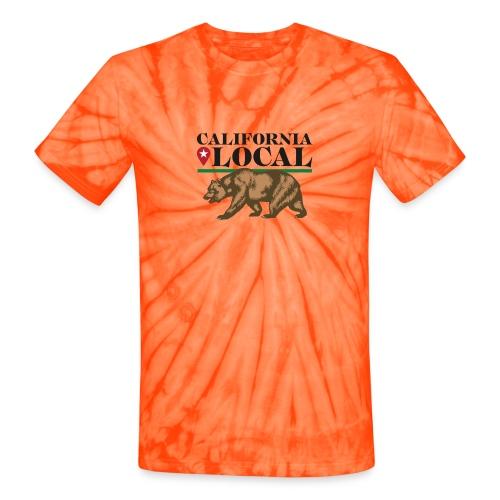 California Local Wear The Bear - Unisex Tie Dye T-Shirt