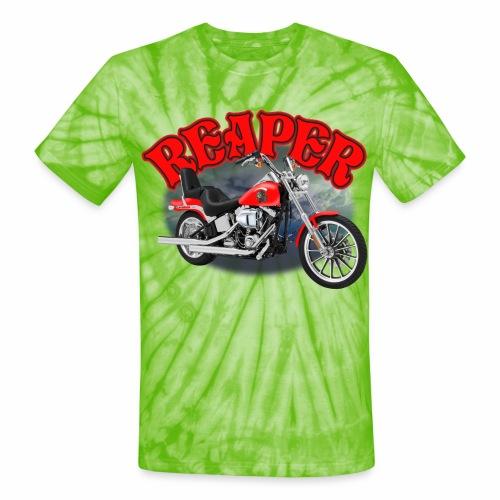 Motorcycle Reaper - Unisex Tie Dye T-Shirt