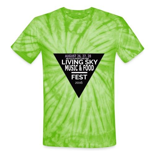 2016 logo png - Unisex Tie Dye T-Shirt