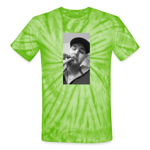 Turupxprime Hoots black n white merch line. - Unisex Tie Dye T-Shirt