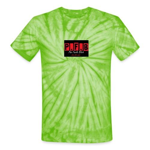 Pas Facile Bitch - Unisex Tie Dye T-Shirt