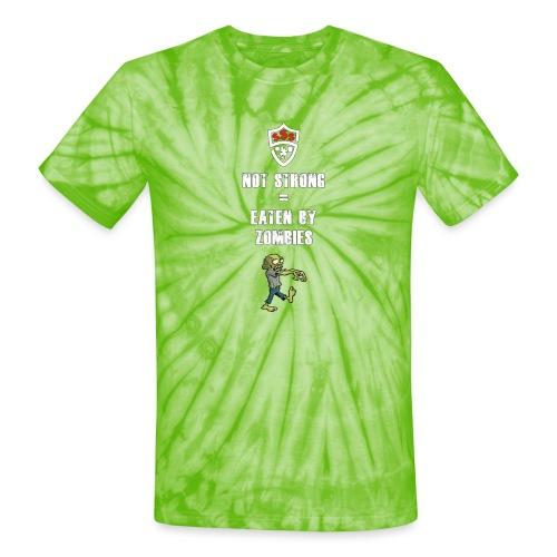 Eaten By Zombies - Unisex Tie Dye T-Shirt