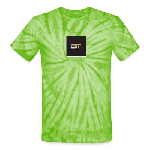 BT logo golden - Unisex Tie Dye T-Shirt