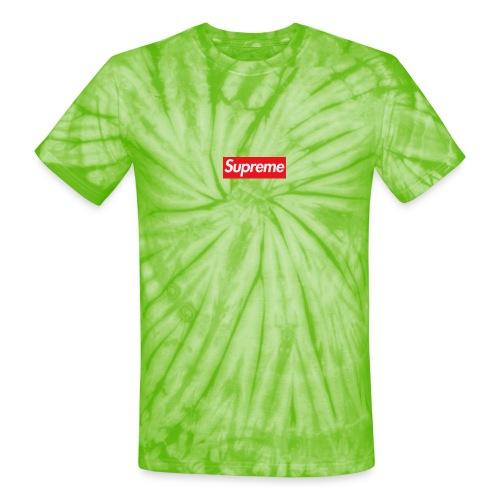 Supreme - Unisex Tie Dye T-Shirt