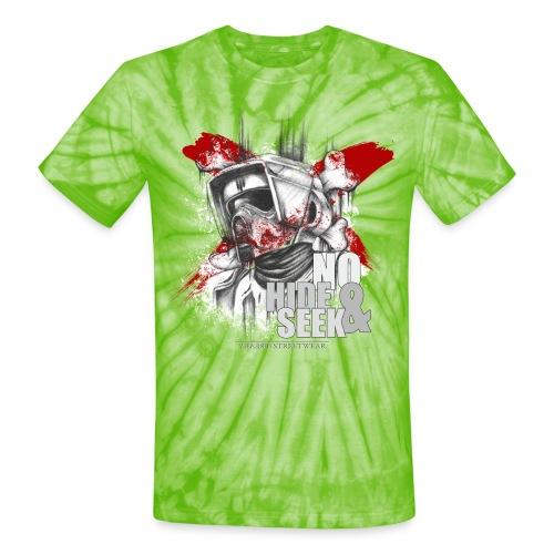 No hide & Seek - Unisex Tie Dye T-Shirt