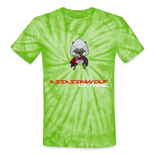 heather gray assassinwolf Tee - Unisex Tie Dye T-Shirt