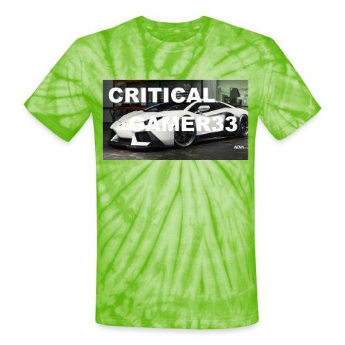 CRITIMERCH EXCLUSIVE - Unisex Tie Dye T-Shirt