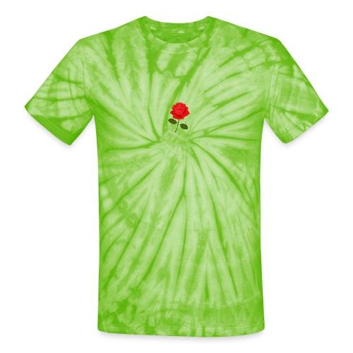 Rose Shirt - Unisex Tie Dye T-Shirt