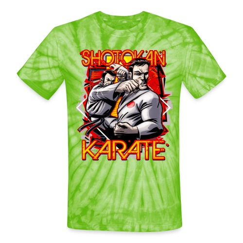 Shotokan Karate - Unisex Tie Dye T-Shirt