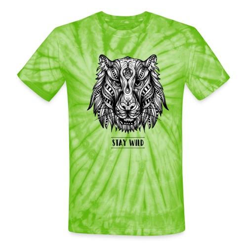 Stay Wild - Unisex Tie Dye T-Shirt