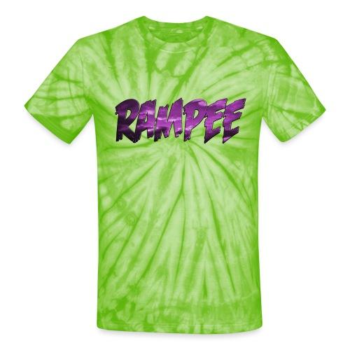 Purple Cloud Rampee - Unisex Tie Dye T-Shirt