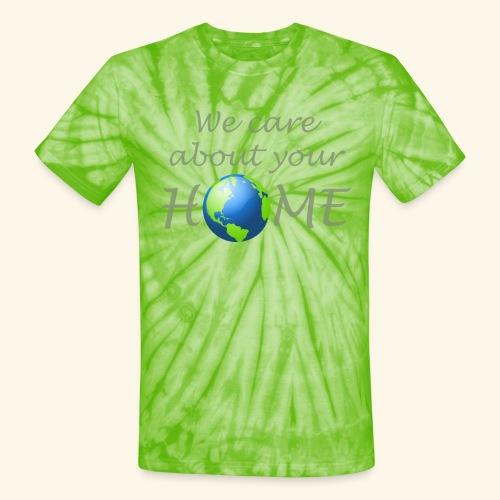 Happy Earth day - Unisex Tie Dye T-Shirt