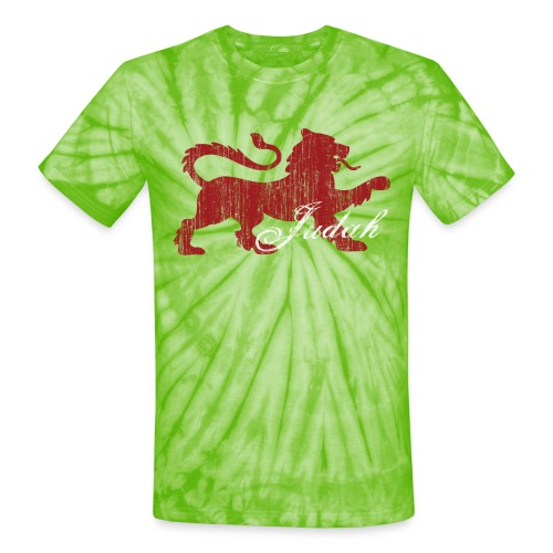 The Lion of Judah - Unisex Tie Dye T-Shirt