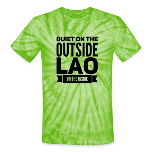 Quiet - Unisex Tie Dye T-Shirt