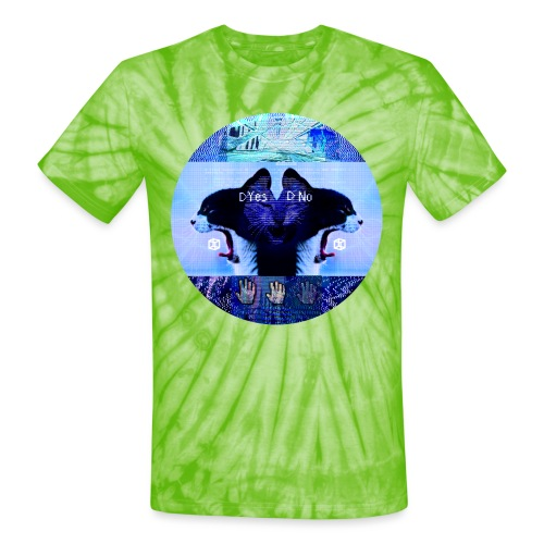 Yes No - Unisex Tie Dye T-Shirt