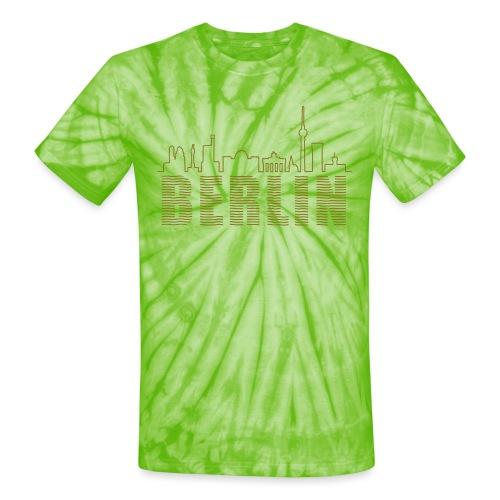 Skyline of Berlin - Unisex Tie Dye T-Shirt