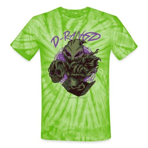 D-RaNGD Voodoo Ghost Logo - Unisex Tie Dye T-Shirt