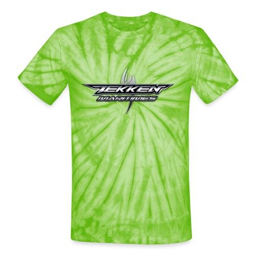 Throwback Tekken Maritimes - Unisex Tie Dye T-Shirt