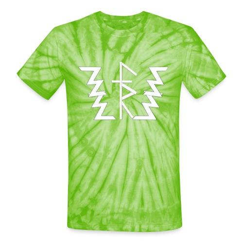 Faith Runnerz Tee Logo - Unisex Tie Dye T-Shirt