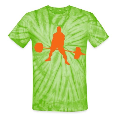 Powerlifting - Unisex Tie Dye T-Shirt