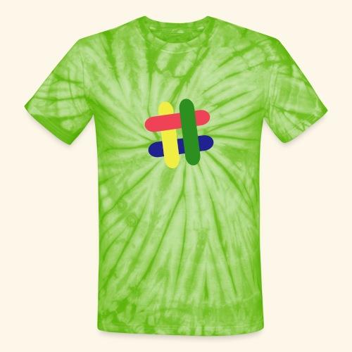 hashtag - Unisex Tie Dye T-Shirt