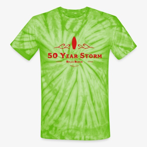 50 Year Storm - Unisex Tie Dye T-Shirt