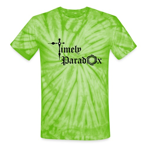 Timely Paradox - Unisex Tie Dye T-Shirt