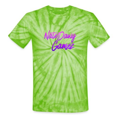 Galaxy Nate- - Unisex Tie Dye T-Shirt