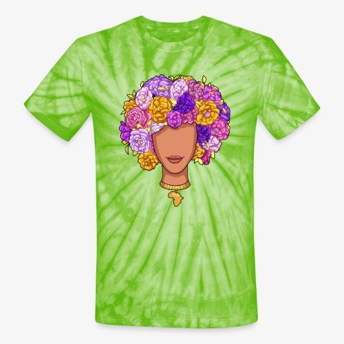 Flower Woman - Unisex Tie Dye T-Shirt