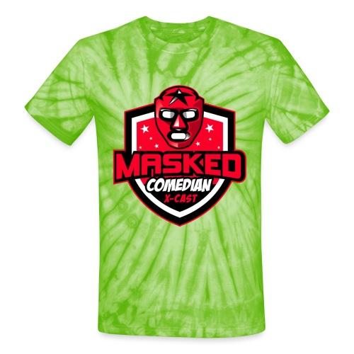 Masked Comedian X-Cast - Unisex Tie Dye T-Shirt