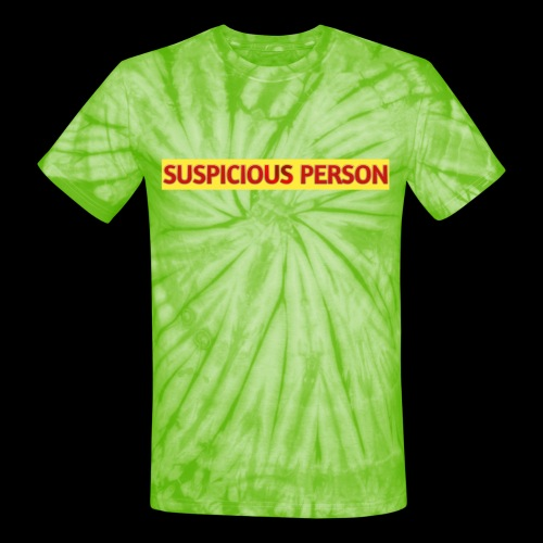 YOU ARE SUSPECT & SUSPICIOUS - Unisex Tie Dye T-Shirt