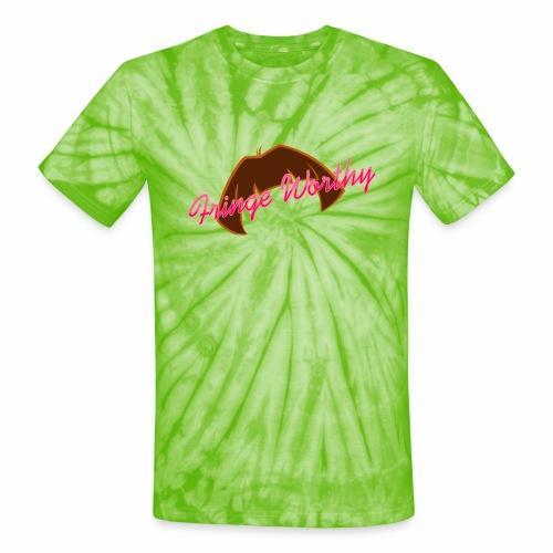 Fringe WorthyCases - Unisex Tie Dye T-Shirt