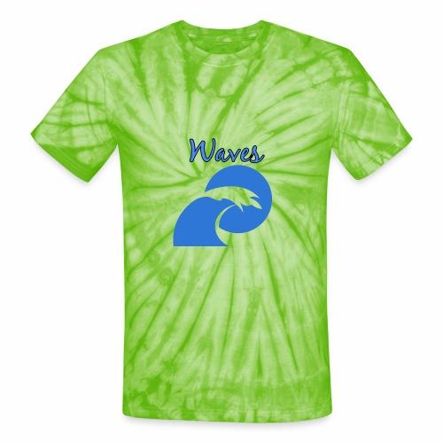 Waves - Unisex Tie Dye T-Shirt