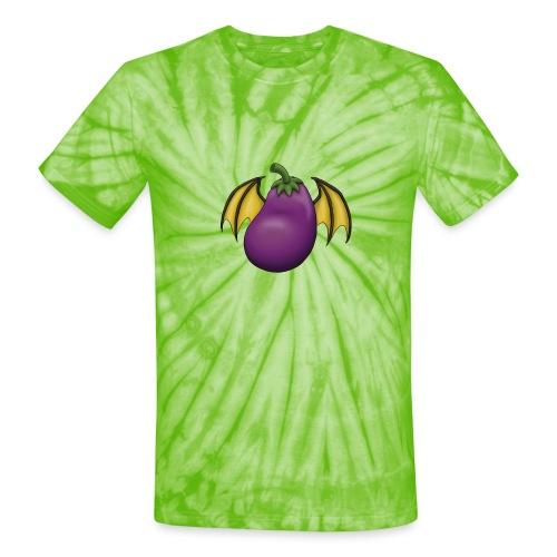 Eggplant Logo - Unisex Tie Dye T-Shirt