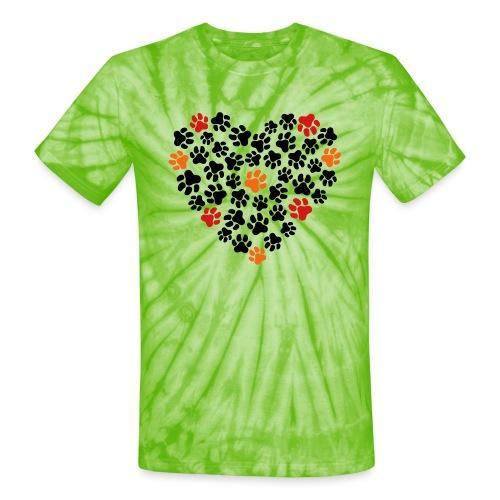 Animal Love - Unisex Tie Dye T-Shirt