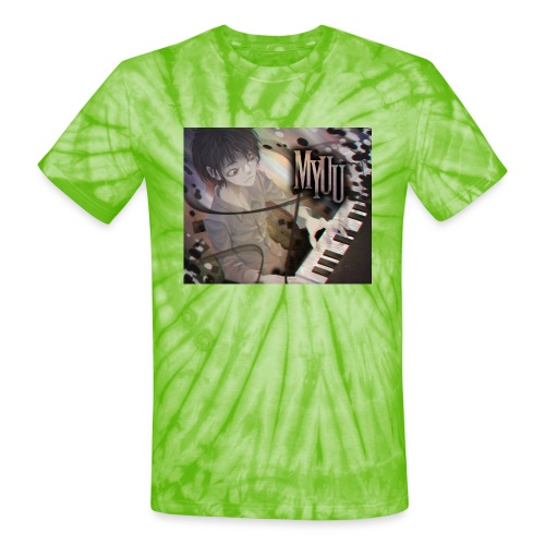 Dark Piano 1 - Unisex Tie Dye T-Shirt