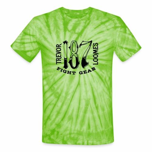 Trevor Loomes 187 Fight Gear Street Wear Logo - Unisex Tie Dye T-Shirt