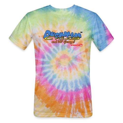 DuckmanCycles and VWGarage - Unisex Tie Dye T-Shirt