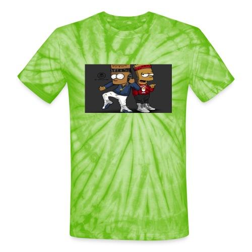 Sweatshirt - Unisex Tie Dye T-Shirt
