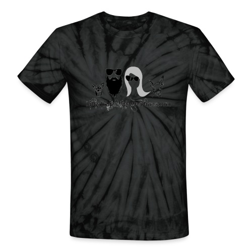 LTBA Heads Logo - Unisex Tie Dye T-Shirt
