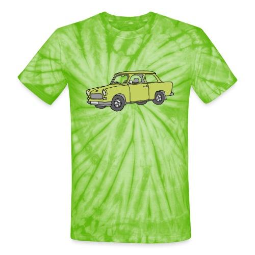 Trabant (baligreen car) - Unisex Tie Dye T-Shirt