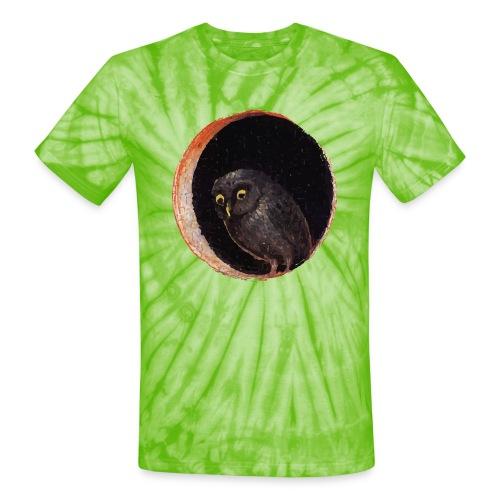 Garden Of Earthly Delights - Unisex Tie Dye T-Shirt