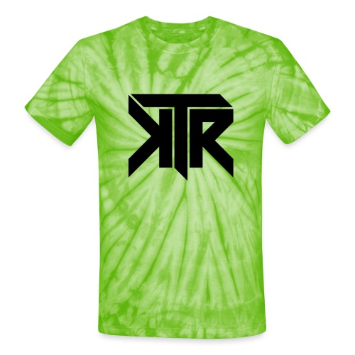 KTR Logo Black - Unisex Tie Dye T-Shirt