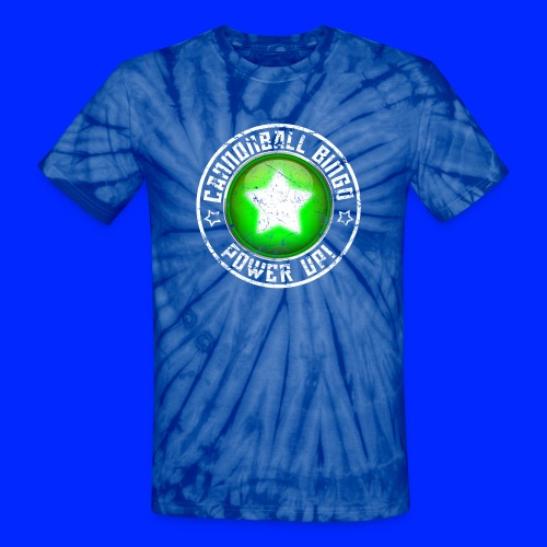 Vintage Power-Up Tee - Unisex Tie Dye T-Shirt