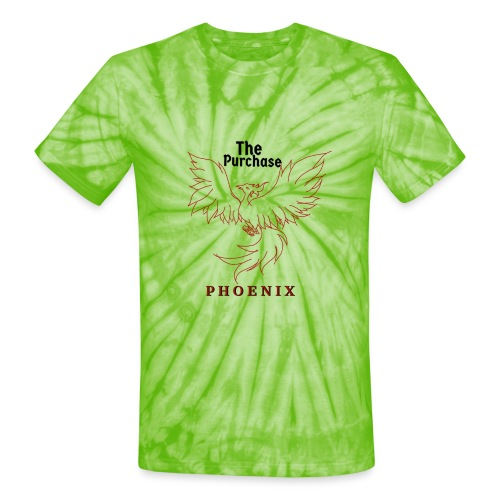 Sketched Phoenix Logo - Unisex Tie Dye T-Shirt