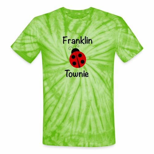 Franklin Townie Ladybug - Unisex Tie Dye T-Shirt