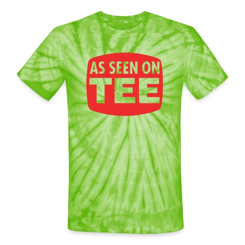 As Seen On Tee - Unisex Tie Dye T-Shirt