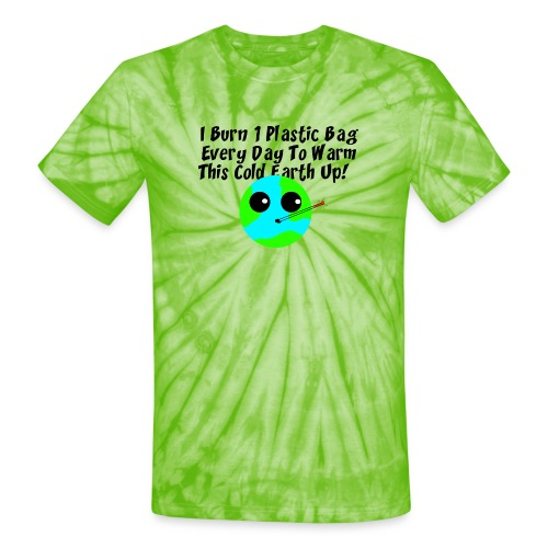 Burn A Bag - Unisex Tie Dye T-Shirt