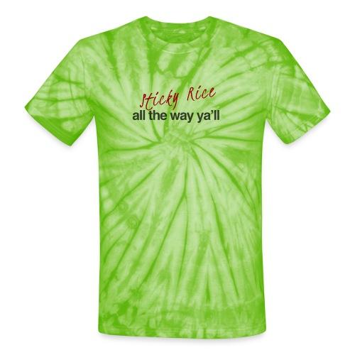 Sticky Rice - Unisex Tie Dye T-Shirt